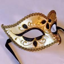 masqurade mask black gold italian masquerade mask insignia masks murano