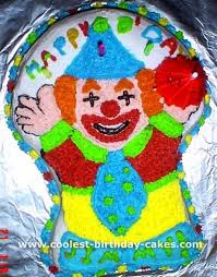 clowns for birthday coolest circus clown cakes