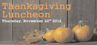 the center to offer free thanksgiving luncheon