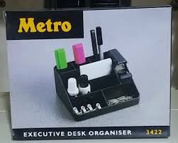 Executive Desk Organizer Desk Organizer Metro Executive Desk Organizer 3422