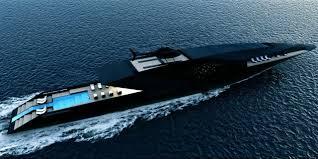bugatti boat black swan superyacht megayacht concept luxury yacht