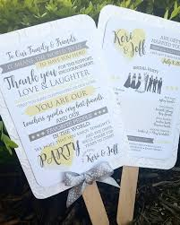 wedding ceremony program fans wedding ceremony program fan thank you cordial punch press