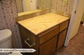 Diy Vanity Top Diy Bathroom Vanity Top Ideas Image Bathroom 2017