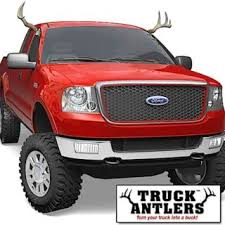 car antlers truck antlers provide outlet for censored truck nutz owners