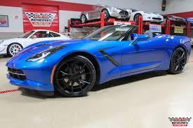 2014 used corvette 2014 chevrolet corvette stingray convertible stock m6222 for