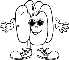 pepper cartoon coloring page wecoloringpage