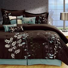 Blue And Brown Bed Sets Aqua Blue And Brown Comforter Sets Amazing Ideas 3 Light Blue