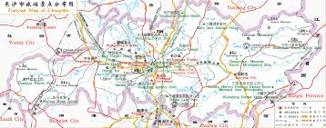 Map Of Shanghai China by Tourist Map Of Changsha China Changsha Tourist Map Changsha