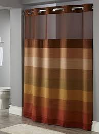 Polyester Shower Curtains Stratus Hotel Polyester Shower Curtain With Snap Liner Size 71