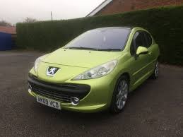 peugeot 2 door sports car used peugeot 207 yellow for sale motors co uk