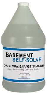 driveway and garage floor sealer basement waterproofing products