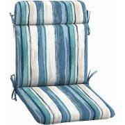 mainstays outdoor patio mid back chair cushion multiple patterns
