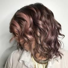 chocolate mauve hair color trend popsugar beauty