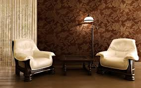 Wallpaper Home Decor Modern Contemporary Living Room Decor Ideas With Brown Wallpaper And