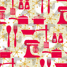 really retro kitchen wallpaper littlerhodydesign spoonflower