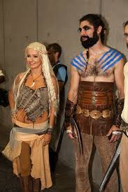 Game Thrones Halloween Costumes Daenerys Daenerys Targaryen Khal Drogo Khaleesi Game Thrones