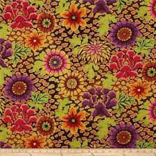 Home Decor Print Fabric Kaffe Fassett Collective Dream Brown Discount Designer Fabric