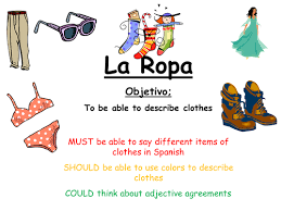 la ropa by wealj002 teaching resources tes