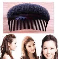 hair puff accessories 2018 korean version of the new hair comb fluffy sponge plate