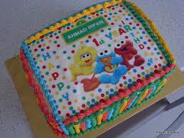irfan u0027s 1st birthday sesame street cake