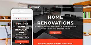 metiane interior design wordpress theme wordpress architecture