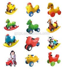 Backyard Kids Toys by Small Kids Cartoon Riding Horse Spring Toys Backyard Kid Toys Qx