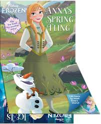 disney frozen ice nice anna u0027s spring fling book lori