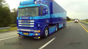 scania trucks rolling footage of a 2000 scania 144l 460 v8 in america youtube