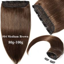 diy hair extensions one weft diy clip in 100 human hair extensions remy 3 4