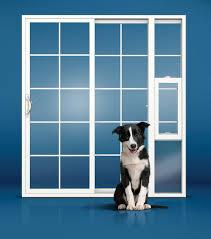 Glass Door With Dog Door Built In by 25 Benefits Of Dog Doors For Sliding Glass Doors Interior