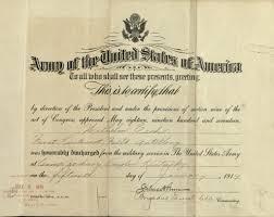 honorable discharge certificate wilhelm esch honorable discharge certificate january 15 flickr