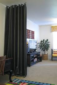 interior room divider image of curtain dividers ideas 2 panel