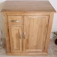 750mm Vanity Units For Bathroom by Solid Oak Bathroom Furniture Vanity Cabinet Cupboard Storage