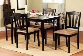 black dining room set black wood dining room chairs black wood dining room table and chairs