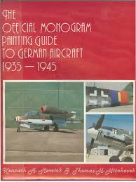 monogram painting guide to german aircraft 35 45 grey color