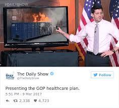 Paul Ryan Meme - paul ryan presents trumpcare and the internet s response is