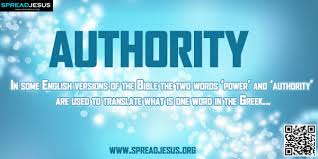 biblical definition of authority in some versions of the bible