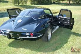 69 corvette stingray split window corvette sting split window fully restored resto mod custom