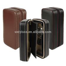 watch travel case images 2015 hot new high quality zipper leather watch travel case zipper jpg