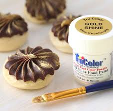 gold food paint powder trucolor gold shine food paint edible