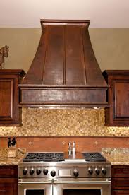 Copper Kitchen Backsplash by 11 Best Copper Range Hoods Images On Pinterest Copper Hood