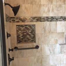 ultimate master bath remodel with custom tile corner soaking bath