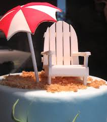Beach Umbrella And Chair Quick Tutorial On How To Make Gumpaste Umbrella Byrdie