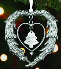personalized remembrance ornaments in memory of ornament in our hearts at christmas