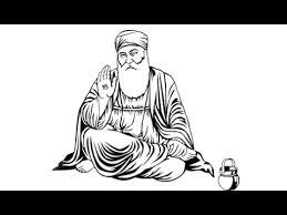 drawing guru nanak dev ji youtube