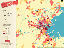 Boston City Map Where The Young People Are Living In Greater Boston Curbed Boston