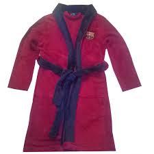 robe de chambre enfants robe de chambre peignoir fc barcelone officiel enfant taille