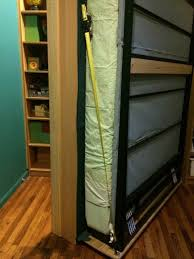 Moving Bookshelves Billy Bookcases Transform Into Murphy Bed Ikea Hackers