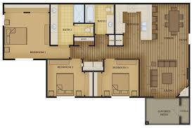 Three Bedroom Apartment Floor Plan by Three Bedroom Apartments Ruby Vista Apartments Elko Nevada
