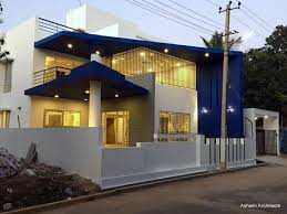 bungalow designs luxury modern villa designs bangalore by ashwin architects at